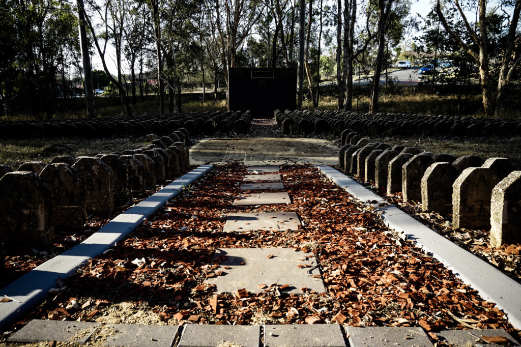 Memorial to those buried at the Goodna Cemetery from the Old Brisbane Mental Hospital.