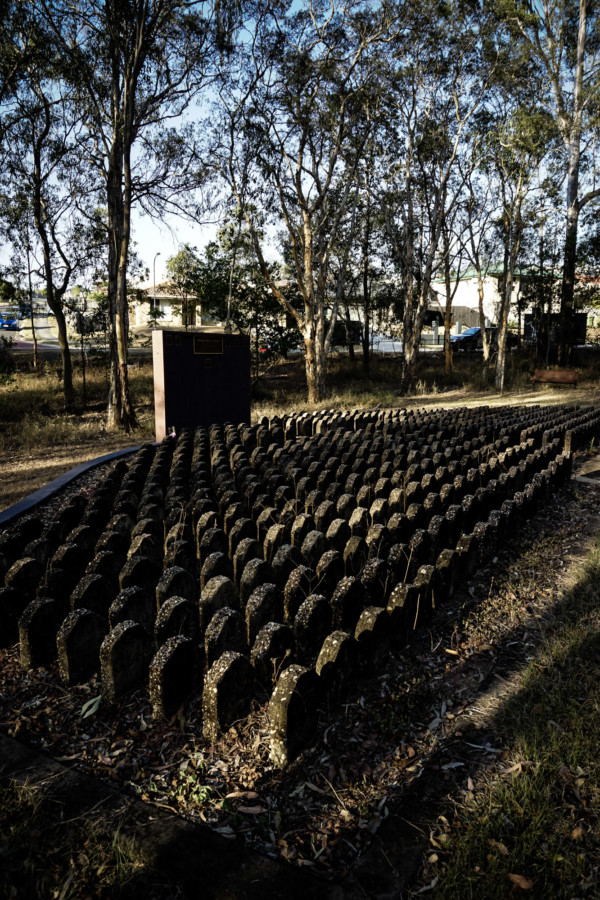 Tribute to the Brisbane Mental Hospital patients buried at the haunted Goodna Cemetery.