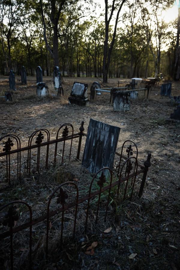 Haunted Goodna Cemetery, Queensland.