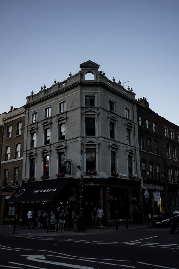 Haunted Ten Bells Pub, London.