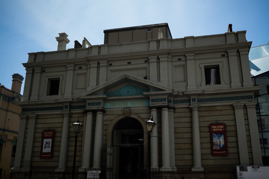 Haunted Theater Royal in Hobart, Tasmania.