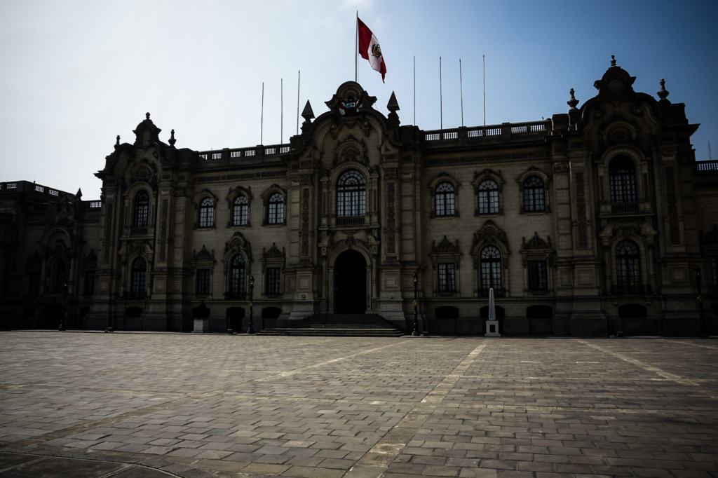 Haunted Government Palace, Peru.