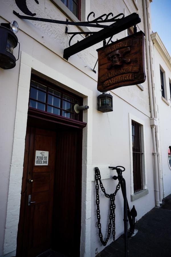 Hobart's most haunted restaurant.