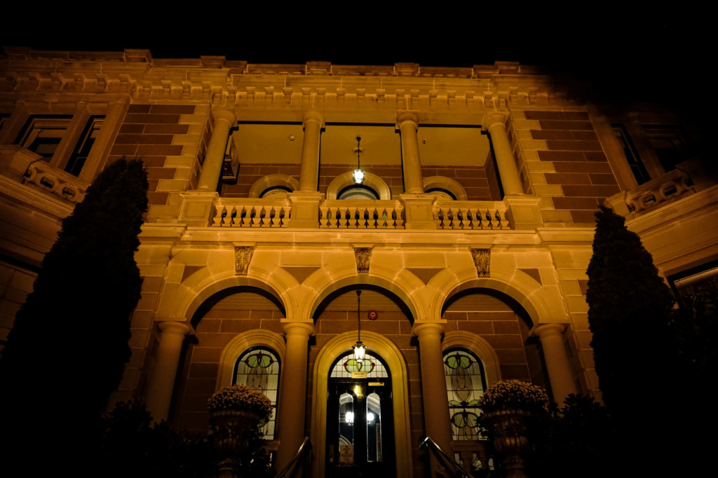 Haunted Lenna of Hobart Mansion.