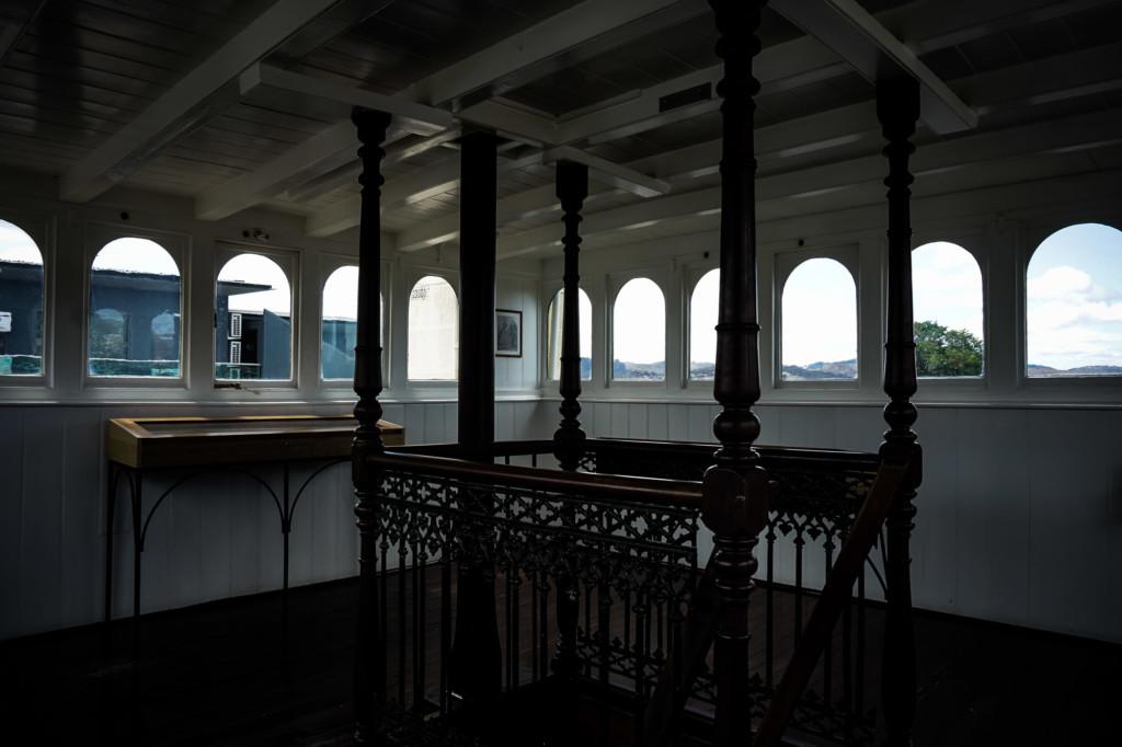 The Lenna of Hobart Hotel's haunted turret.