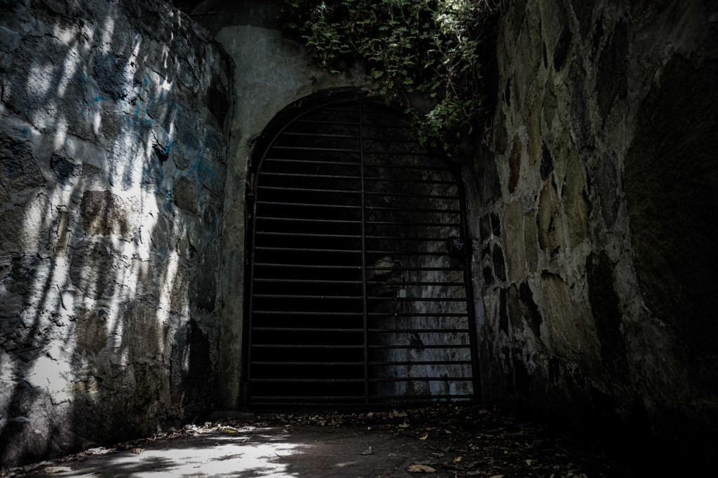 Haunted Mulgrave Battery in Hobart.