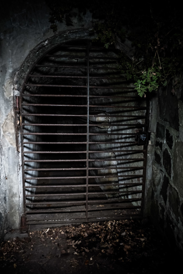 Haunted tunnel under Princes Park, Tasmania.