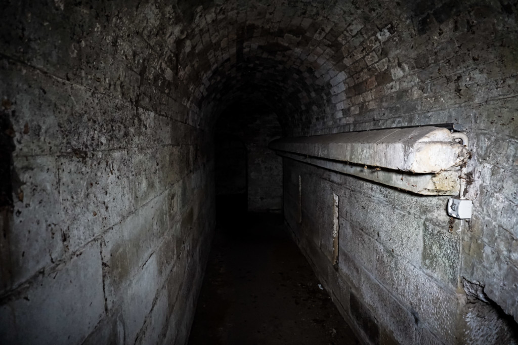 Haunted tunnel in Hobart, Tasmania.
