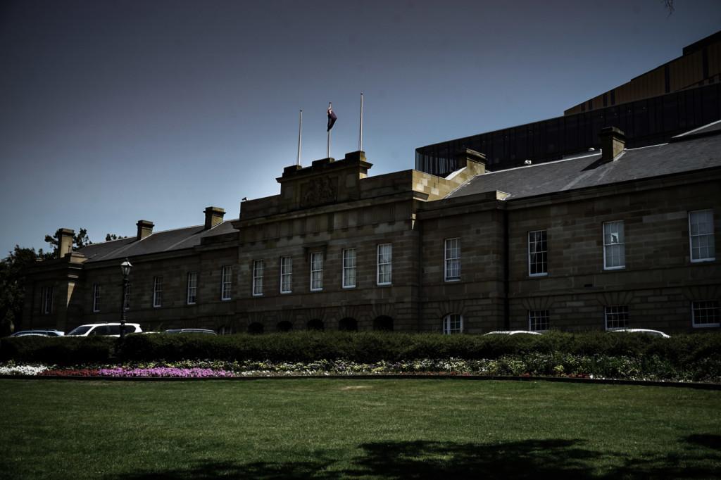 Haunted Parliament House in Tasmania, Australia.