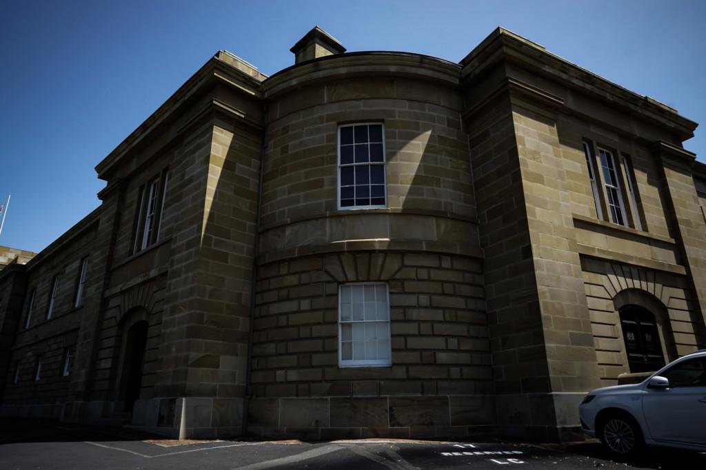 Haunted building in Hobart.