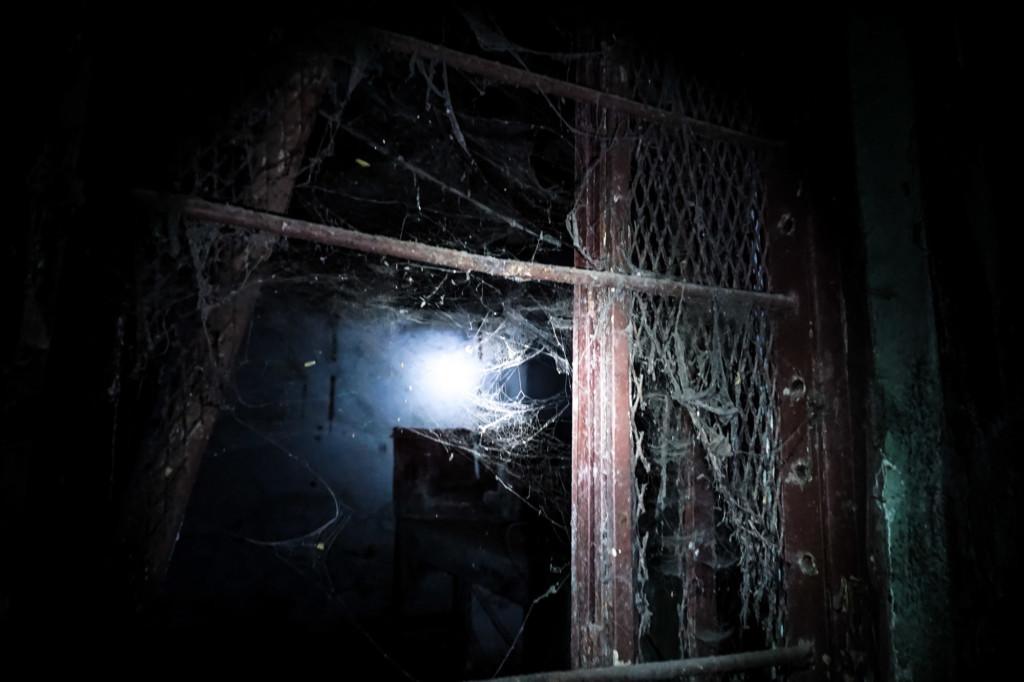 Creepy haunted place in Mumbai, India.