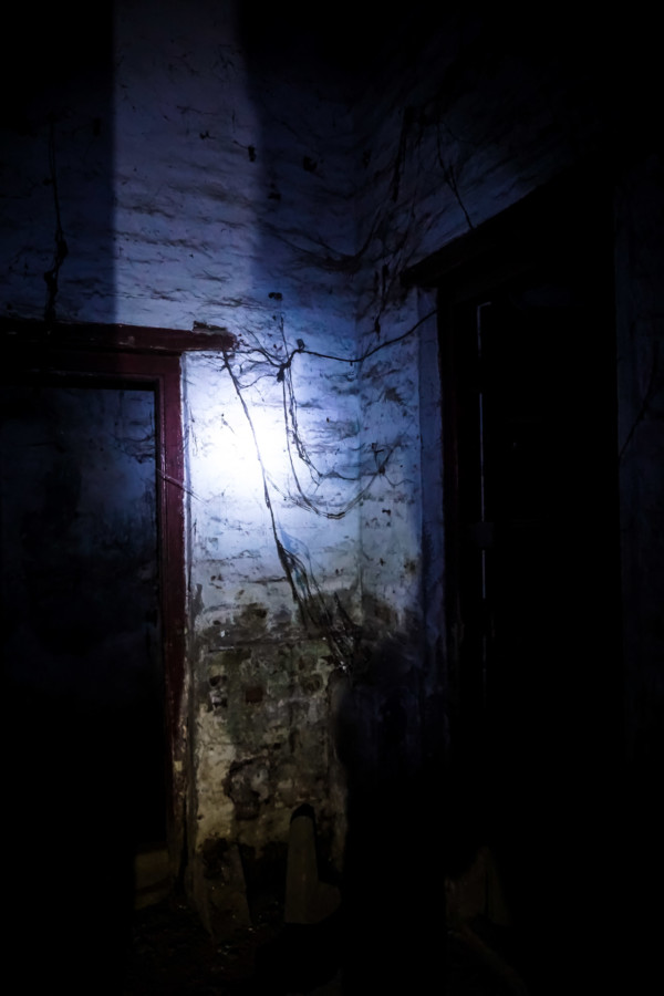 Haunted place in India.