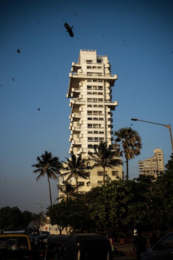 Haunted apartment complex, Jivesh Terraces.