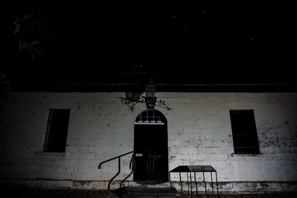 Haunted Richmond Gaol Tasmania.