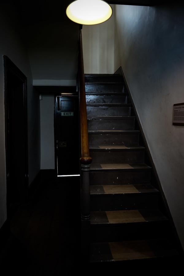 Haunted prison in Tasmania, Australia.