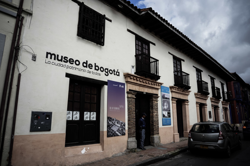 Haunted museum in Bogota, Colombia.