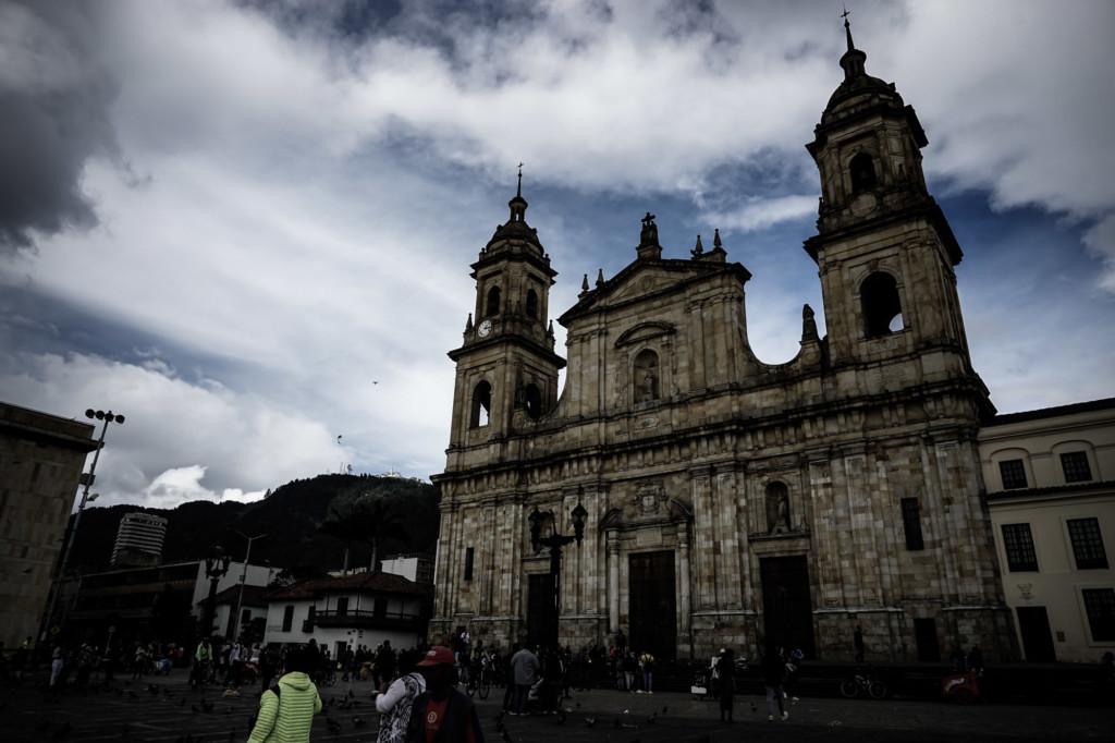 Bolivar Square, Bogota is haunted.