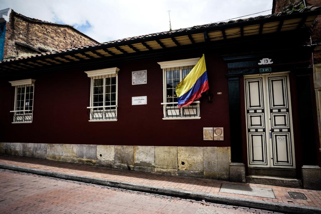 Haunted house in Bogota.