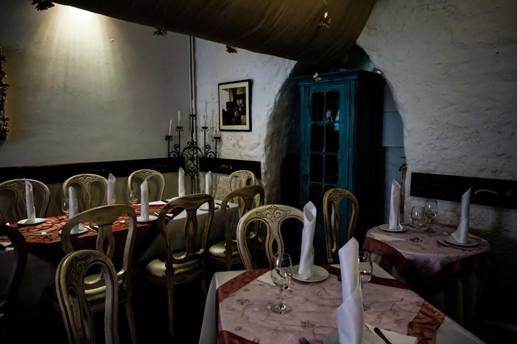 Inside La Brujas, Bogota.