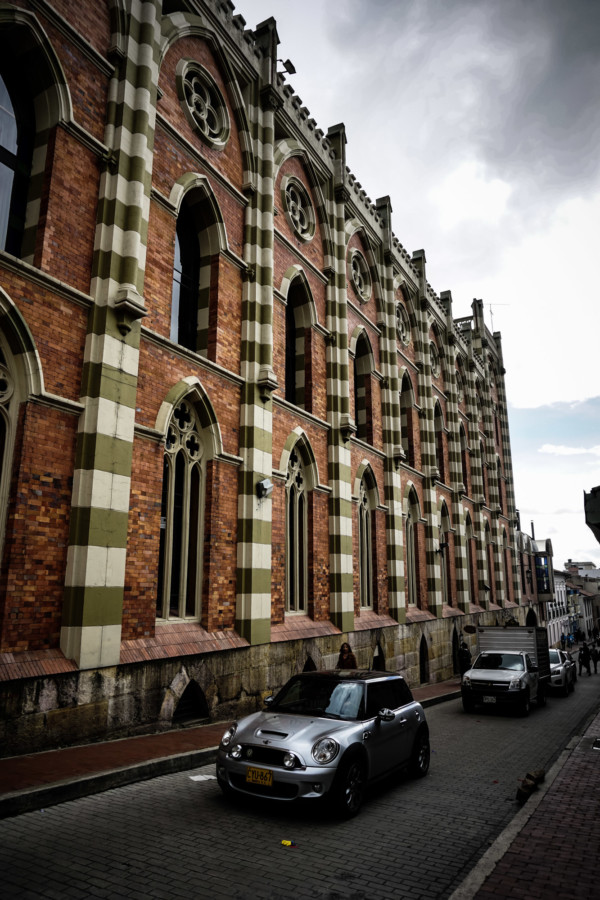 Haunted building in Bogota, Colombia.