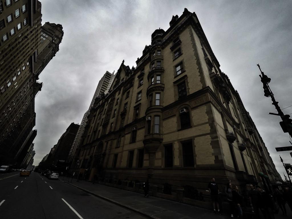 Haunted Dakota Building, New York City.