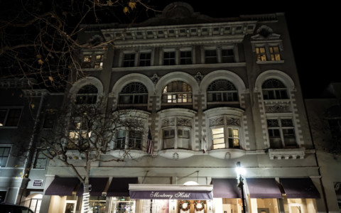 Ghosts of the Haunted Monterey Hotel