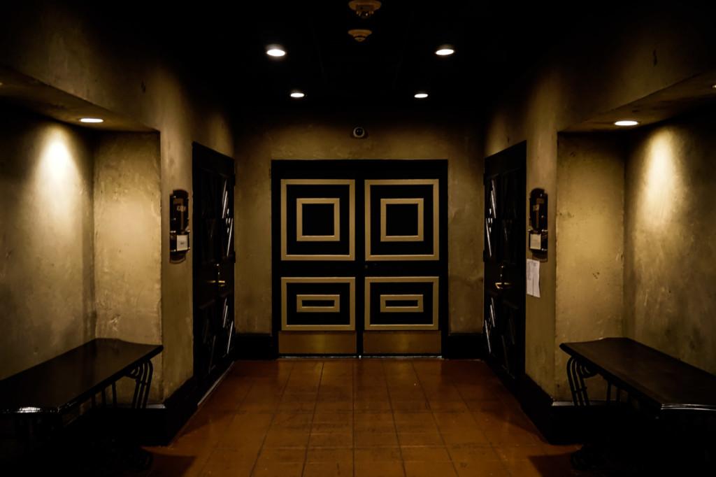 Haunted hotel in Los Angels.
