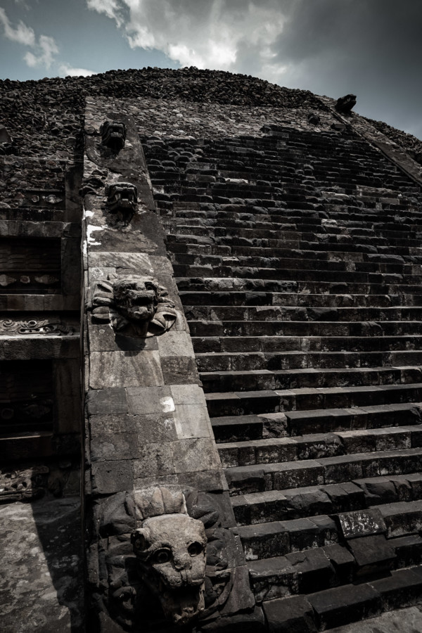 Temple of the Feathered Serpent a known place of human sacrifice.