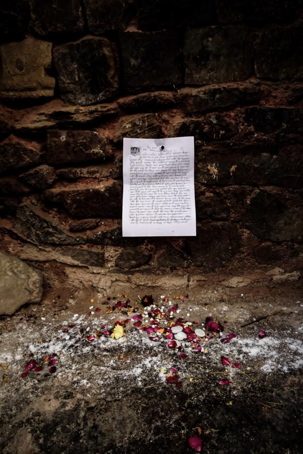 Feroz Shah Kotla letters.