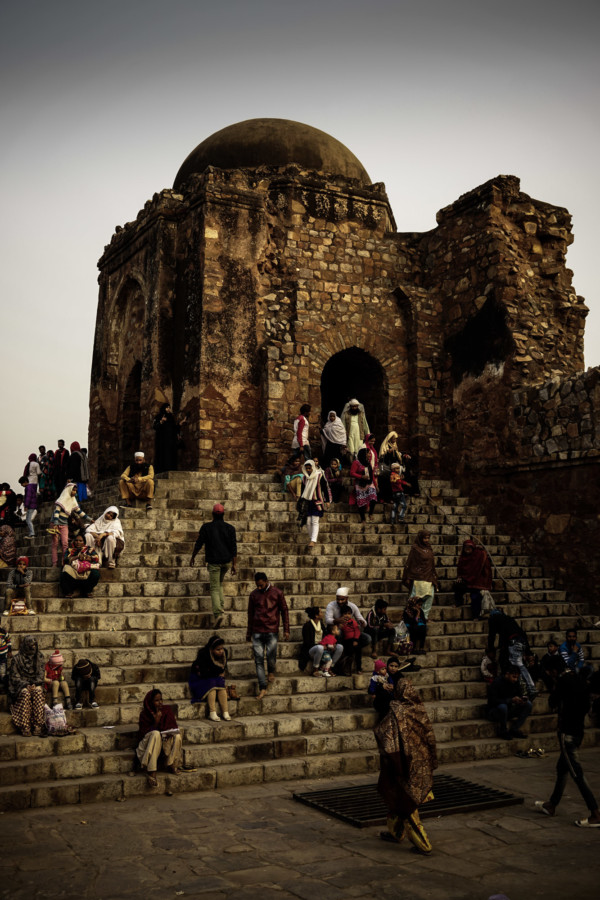 Feroz Shah Kotla haunted by jinns.
