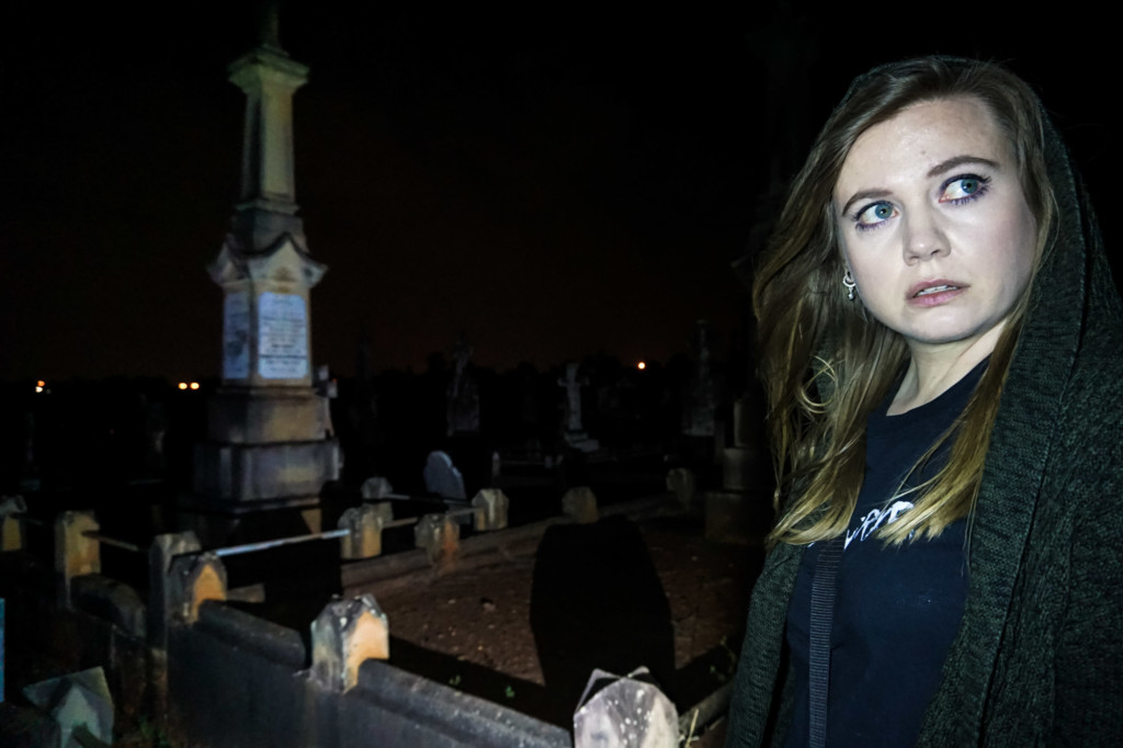 Haunted cemetery in Brisbane, Australia.