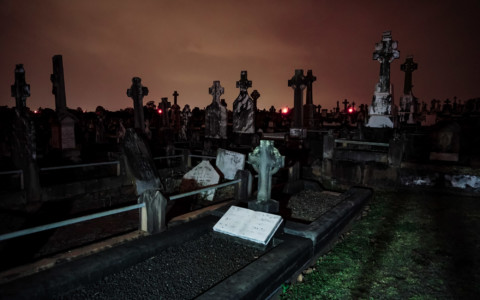 Ghosts of Nudgee Cemetery in Queensland, Australia