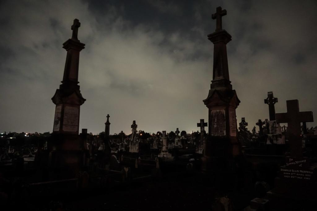Haunted Nudgee Cemetery Queensland.