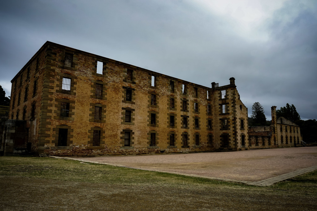 Ruined prison at Port Arthur.