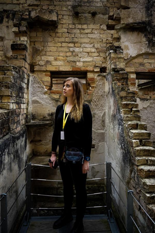 Port Arthur haunted jail cell.
