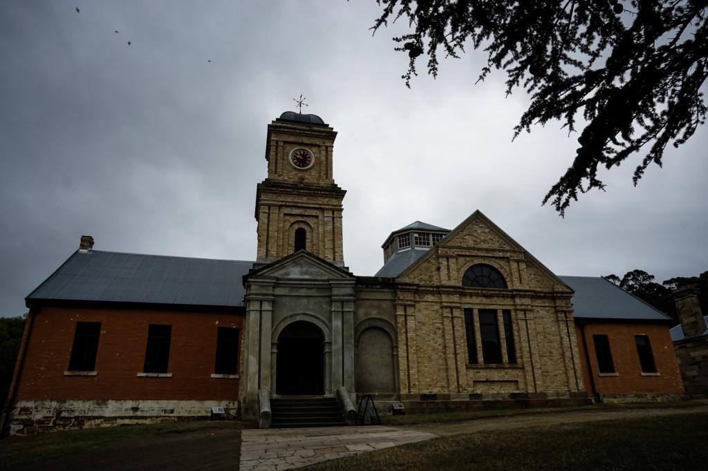 Haunted asylum in Tasmania.