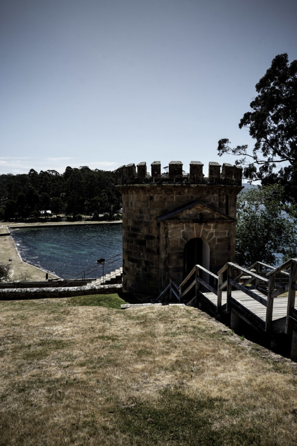 Lookout at Port Arthur.