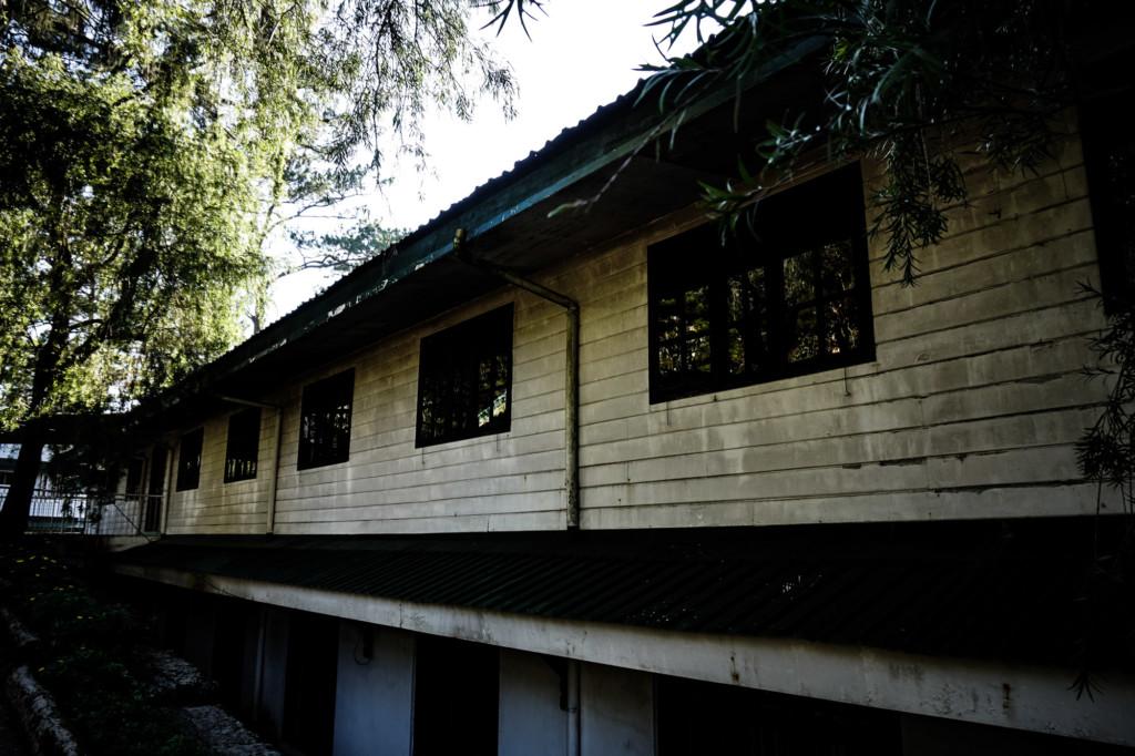 Haunted Teacher's Camp.