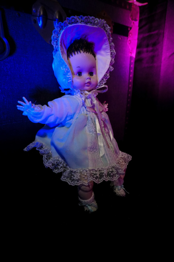 Paranormal game with haunted doll.