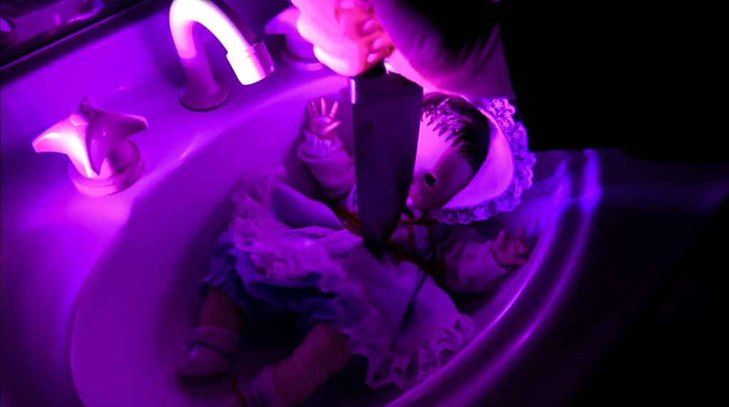 Haunted doll in Hide and Seek Alone.