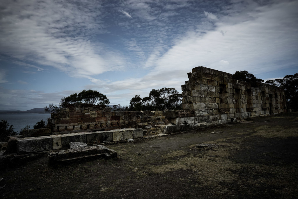 Ruins of Tasmania's Coal Mines.