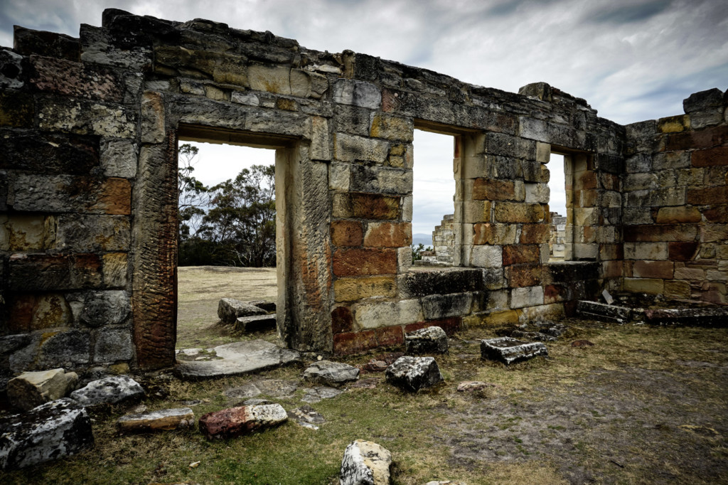 Abandoned Coal Mines near Port Arthur, Tasmania.