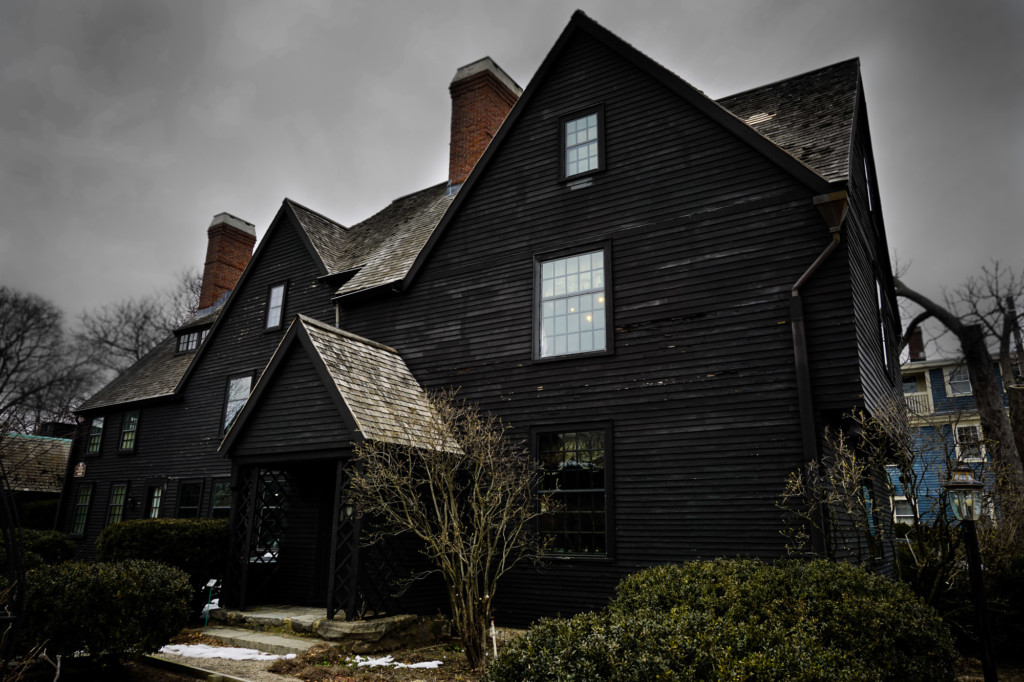 Haunted house of the Seven Gables Massachusetts.