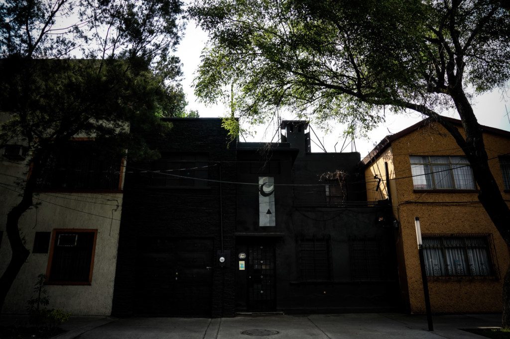 Most haunted house in Mexico.
