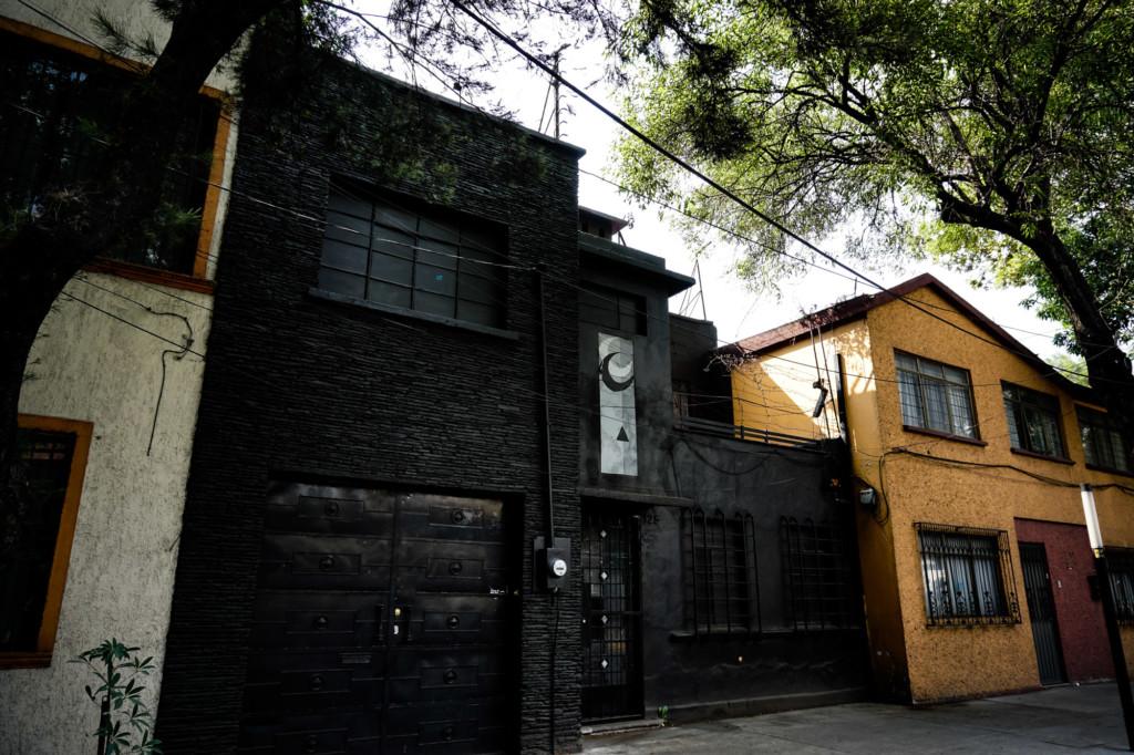 Ominous La Moira House.