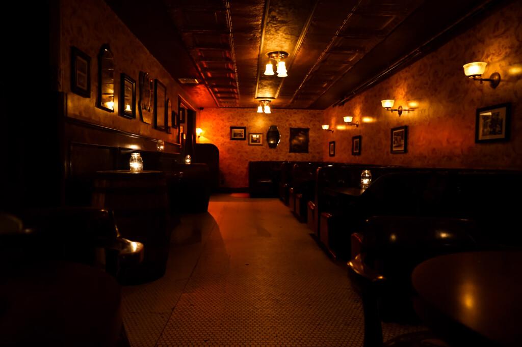 Haunted bar in Venice, California.