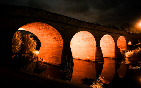 Ghosts of Richmond Bridge, Tasmania