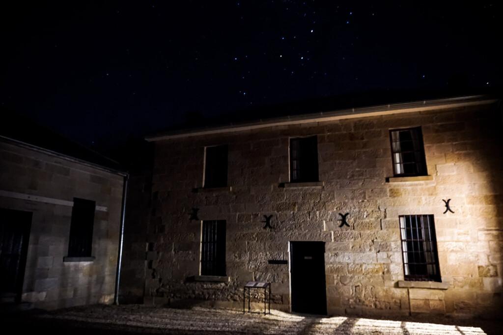 Haunted Gaoler's House in Richmond, Tasmania.