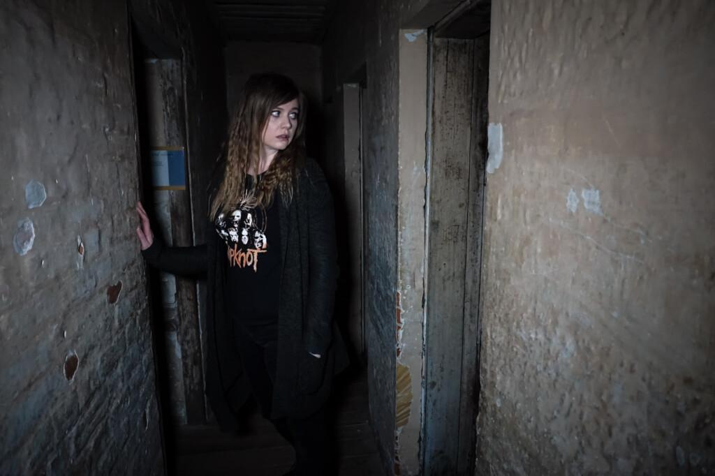 Haunted jail in Tasmania, Australia.