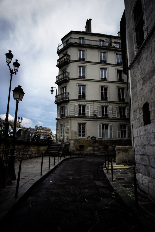 Haunted place in Paris.